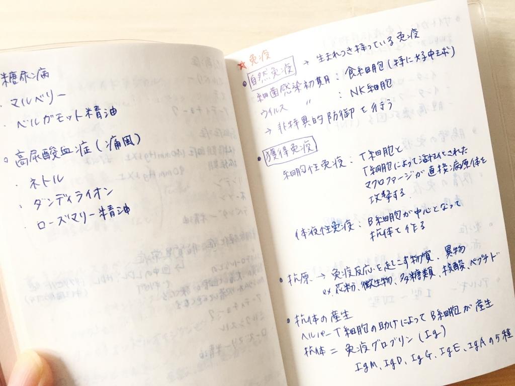 ハーバルセラピスト勉強法