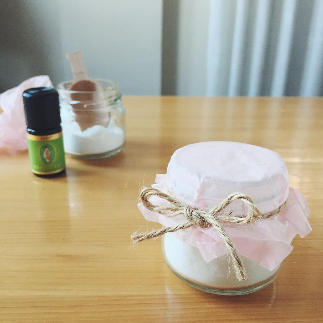 アロマ重曹・芳香剤の作り方