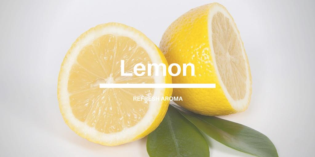 レモン リフレッシュ効果のあるアロマオイル