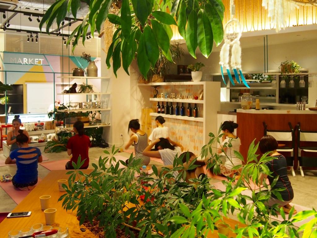 7/23(土) 夏を爽やかに過ごすアロマ&ヨガスペシャルイベントを開催しました!
