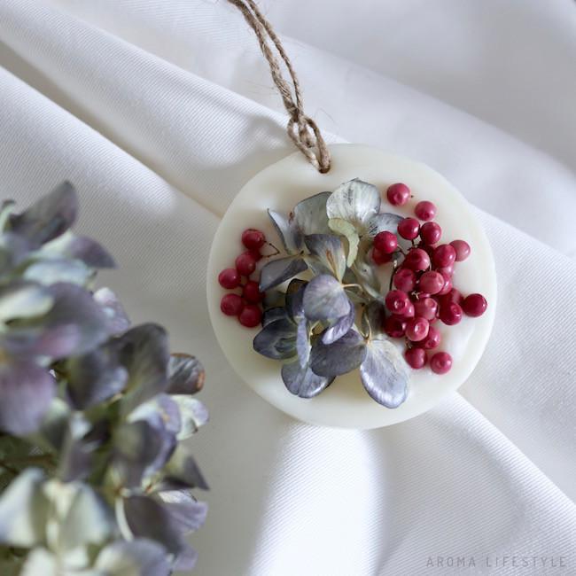 アロマワックスバー 紫陽花&ピンクペッパーベリー