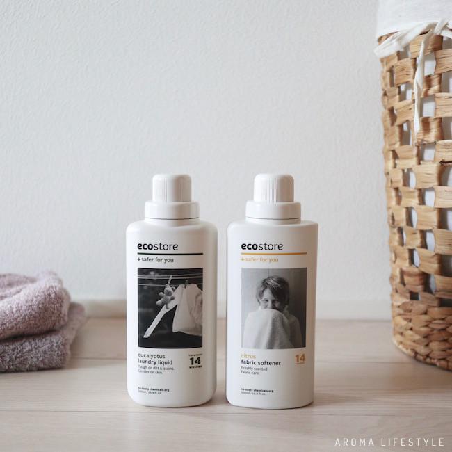 エコストア 洗濯用洗剤&柔軟剤